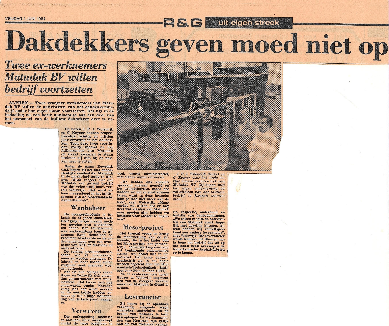 Keijzer Wolswijk dakbedekking